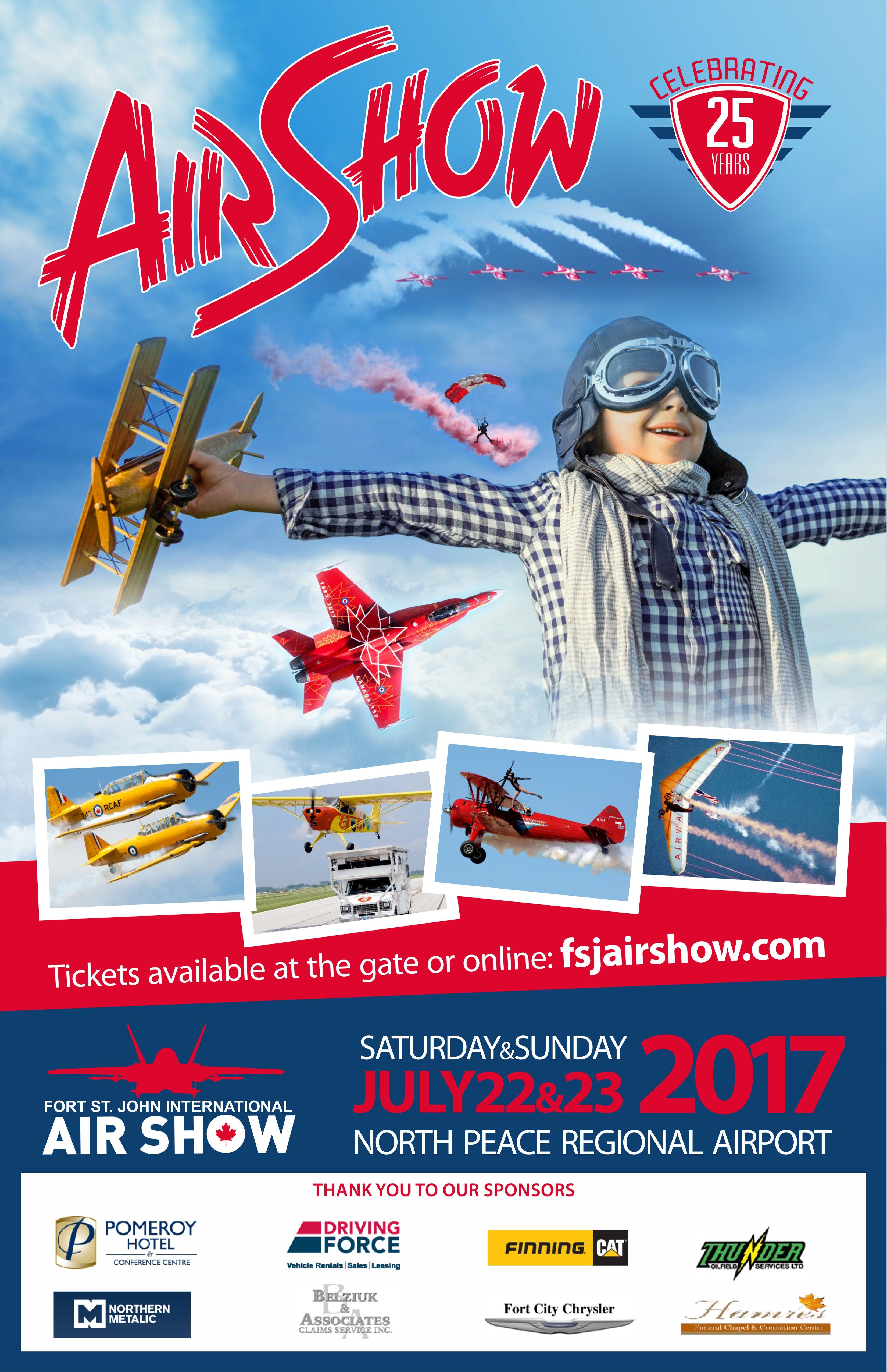 Eastbourne Air Show >> Fort St. John Airshow | Encana Events Centre – Dawson Creek's Entertainment Centre