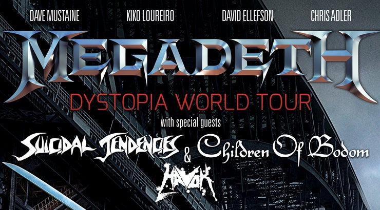 megadeth with special guests encana events centre dawson creek 39 s entertainment centre. Black Bedroom Furniture Sets. Home Design Ideas