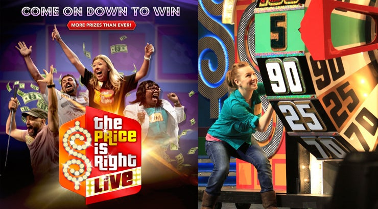 Price is right live tour prizes for students