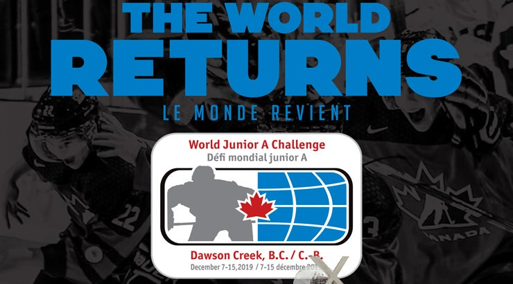 2019 World Junior A Challenge | Encana Events Centre