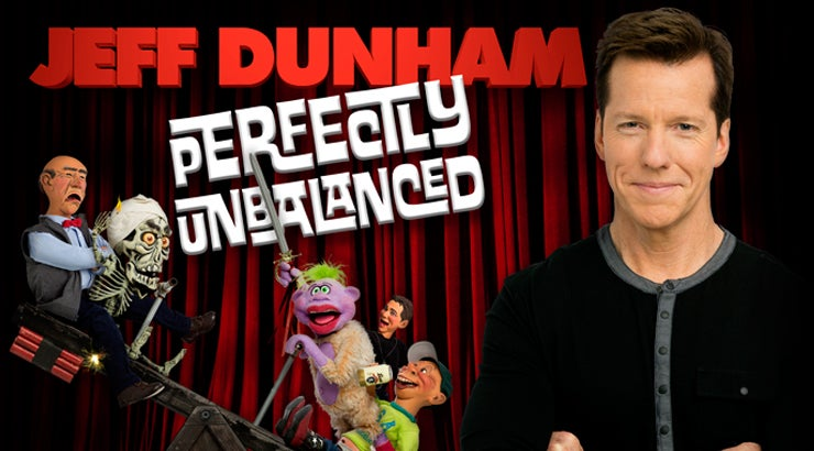Jeff Dunham comes to Dawson Creek, BC